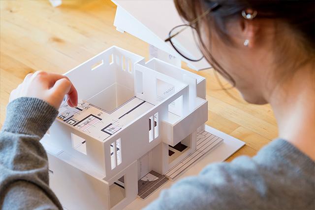 住宅専門の<br>スキルフルな設計士